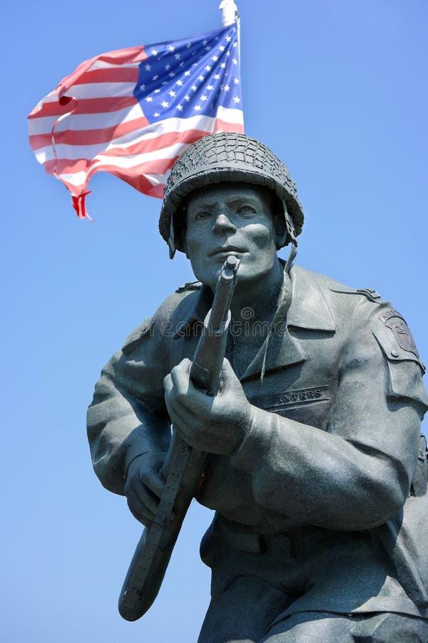 Statue en gros plan de Richard Winters photos libres de droits