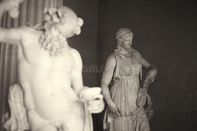 Statue. Famous Louve Paris France royalty free stock image