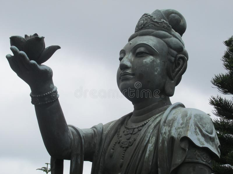 Statue femaile chinoise photographie stock libre de droits
