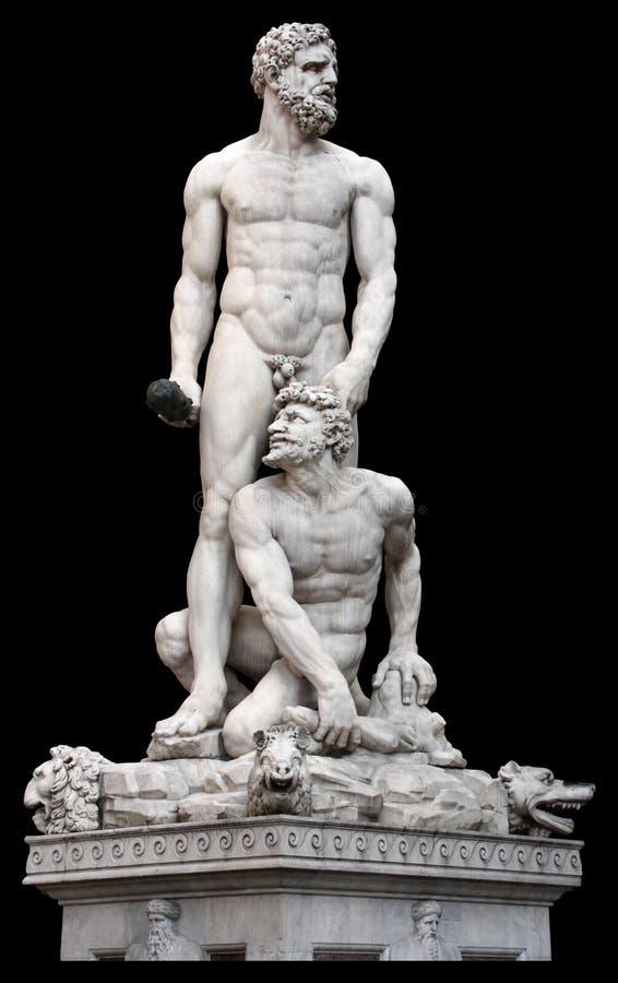 Statue Florence Italie de Poseidon photos libres de droits