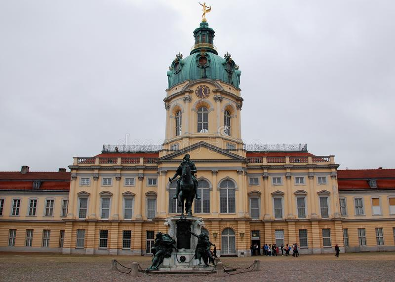 The statue of Frederick the Great royalty free stock image