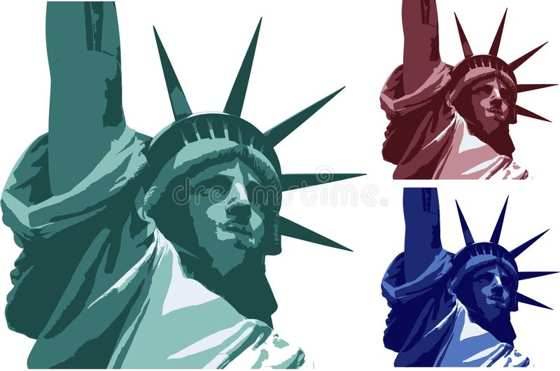 Download Statue of the freedom stock vector. Image of york, great - 16851831