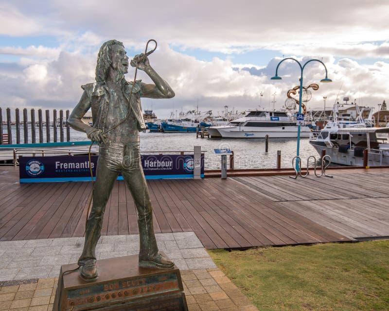 Statue Fremantle Australien lizenzfreie stockfotos