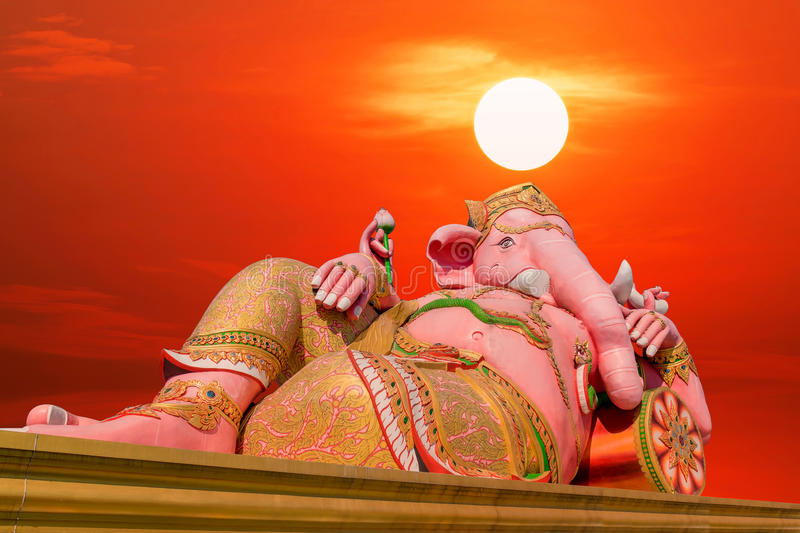 Statue of Ganesh royalty free stock images