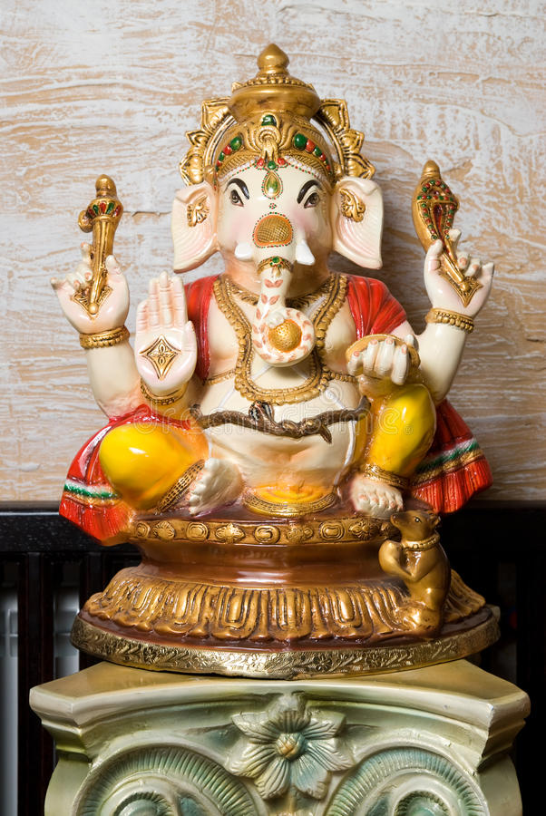 Statue of Ganesha. Photo of the Statue of Ganesha royalty free stock images