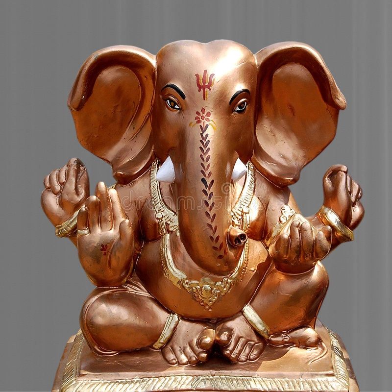 Download Statue of Ganesha stock image. Image of model, religous - 6468251