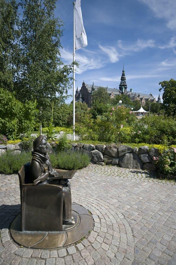 Download Stockholm Nordic Museum Surroundings Stock Image - Image: 10145479