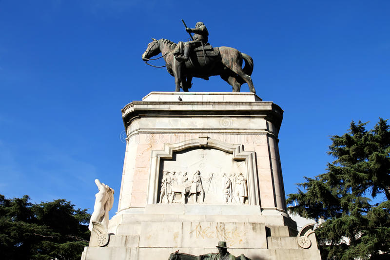 Download Statue of General Artigas stock photo. Image of historic - 24521788