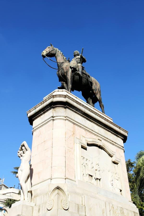 Statue Of General Artigas Stock Images