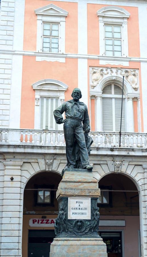 Statue of General Garibaldi royalty free stock images