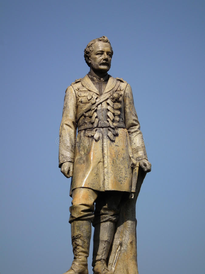 Download Statue of a General Gordon stock photo. Image of soldier - 13918596