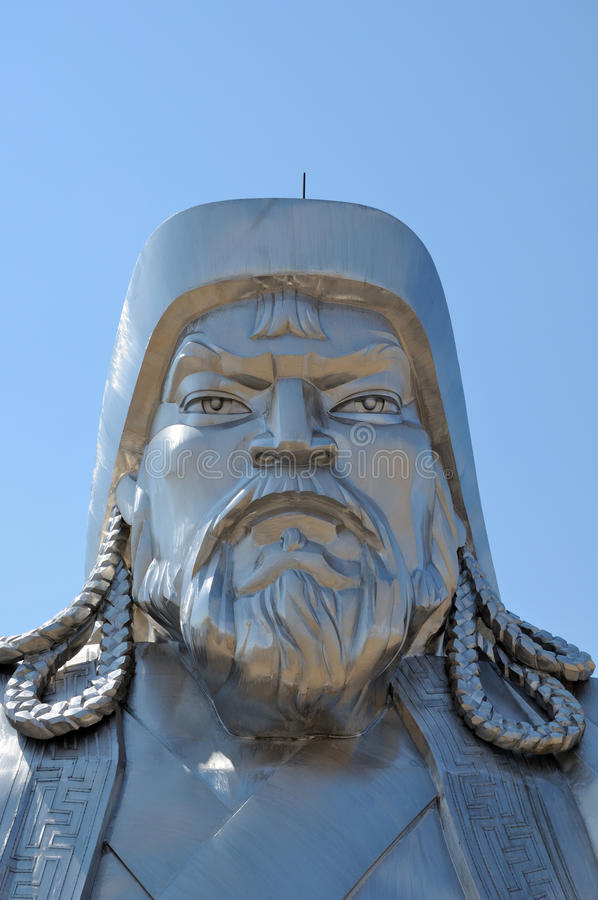 Download Statue of Genghis Khan stock photo. Image of mongolia - 19901258