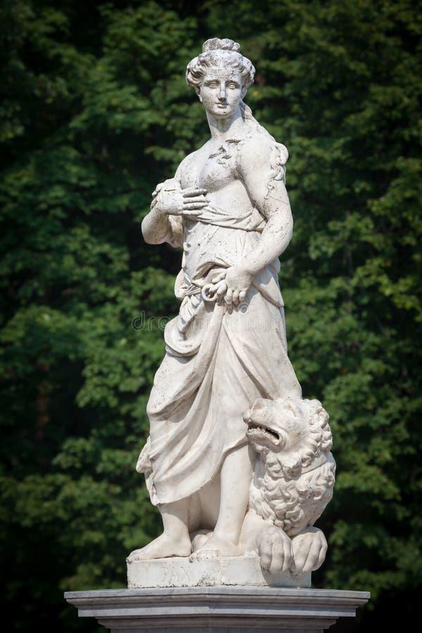 Statue of the goddess Pax stock photos
