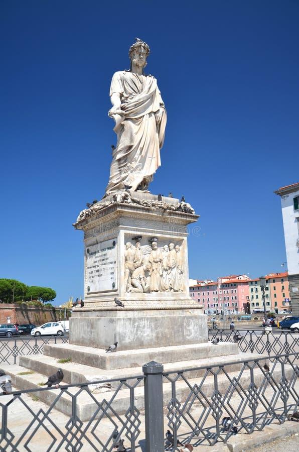 Download The Statue Of Grand Duke Leopold II On Piazza Della Republica In Livorno, Italy Stock Photo - Image: 33778510