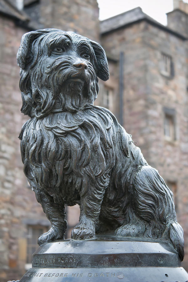 Download Statue Of Greyfriars Bobby, A Famous Terrier Stock Photo - Image: 23433580