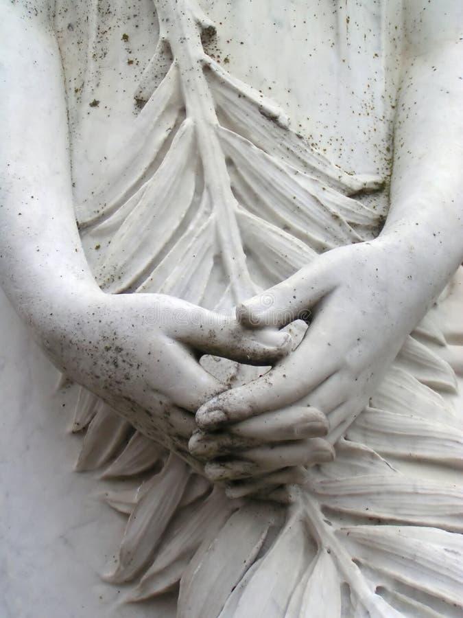 Statue-Hände lizenzfreie stockfotografie