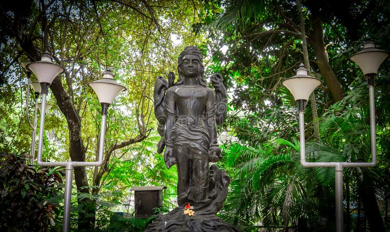 Statue of a Hindu Idol royalty free stock images