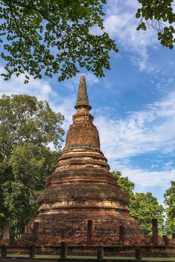 Download Statue In Historischem Park KamphaengPhet Stockbild - Bild von asien, historisch: 96932227