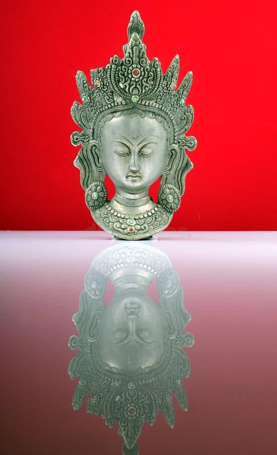 Statue indienne de déesse photo stock