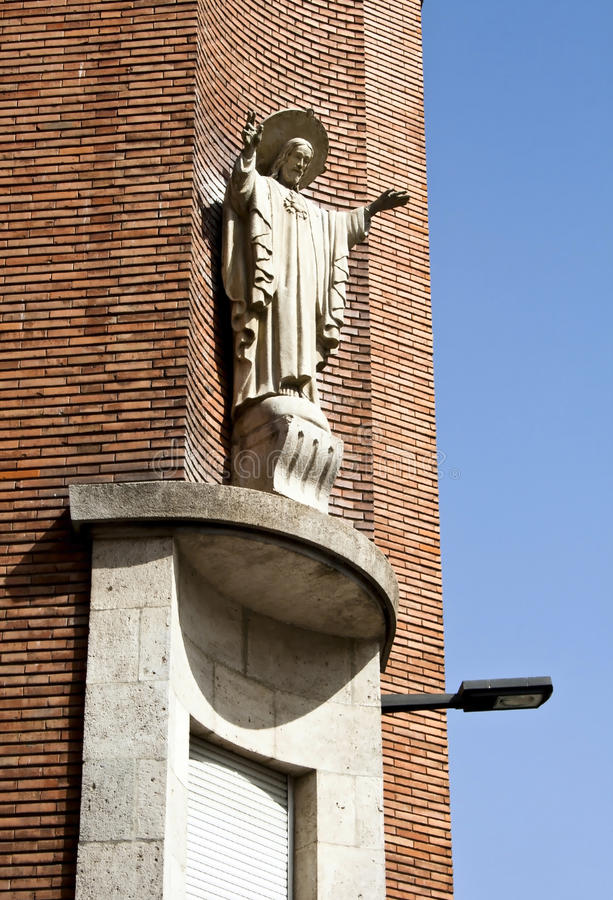 Download Statue of Jesus Christ stock image. Image of town, statue - 26470721