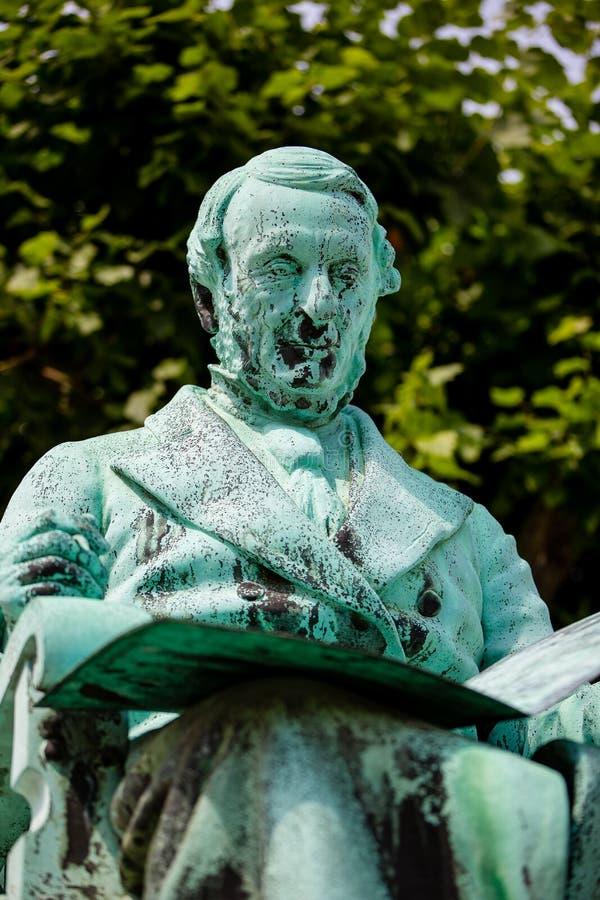 The Statue Of Johan Peter Emilius Hartmann In Copenhagen, Denmark ...