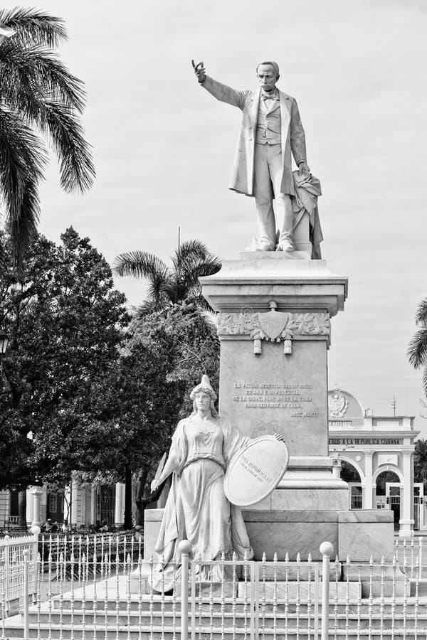 Download Statue of Jose Marti stock photo. Image of architecture - 28576586