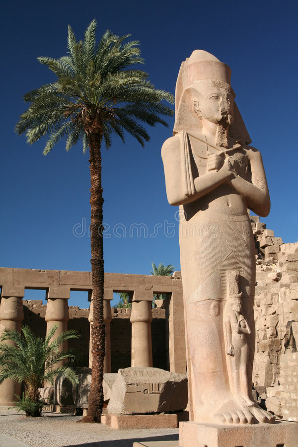 Download Statue of King Ramses II. stock image. Image of archeology - 1233789