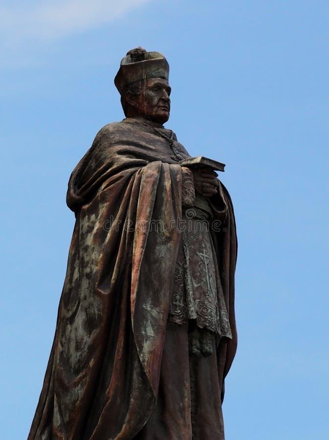 Statue, la cathédrale de St Mary, Sydney photographie stock libre de droits