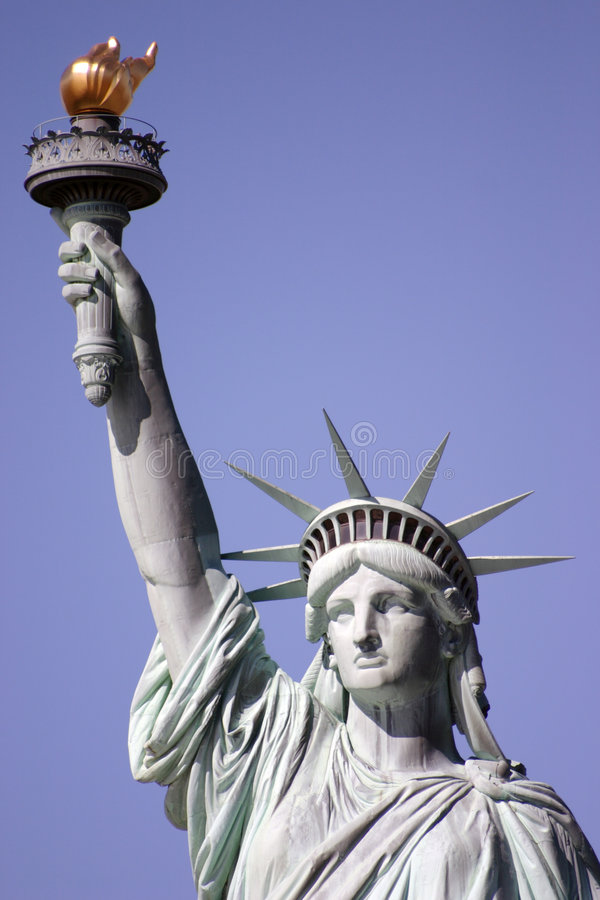 Download Statue of Liberty 1 stock photo. Image of liberated, flame - 1066442
