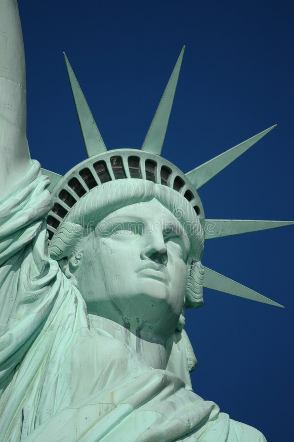 Statue of Liberty. On Liberty Island in New York City
