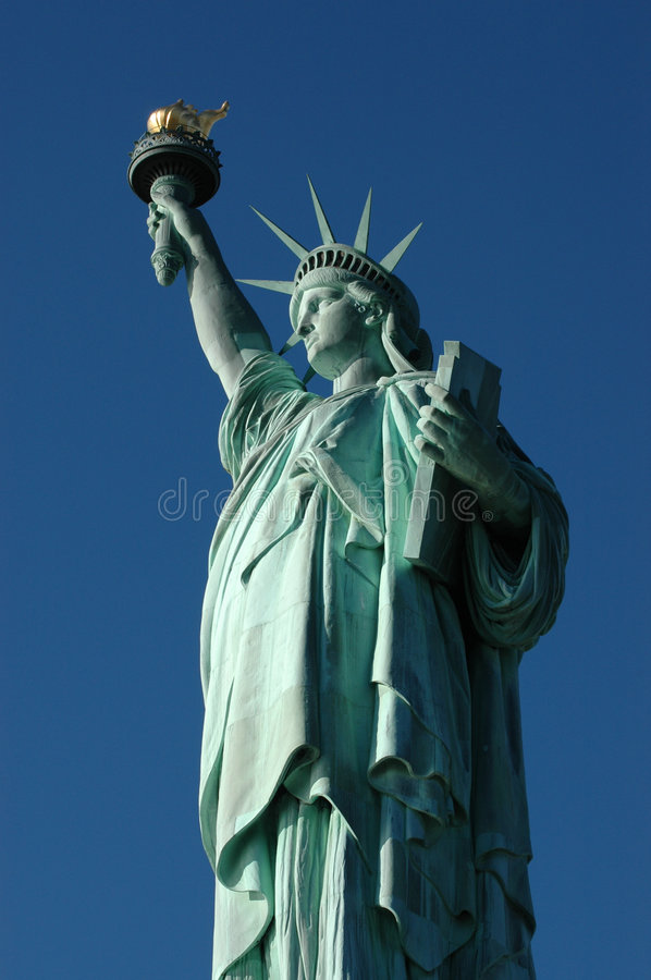 Download Statue of Liberty stock image. Image of york, island, crown - 123573