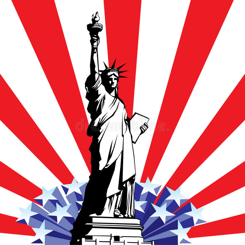 Download Statue of Liberty stock vector. Illustration of culture - 14300896
