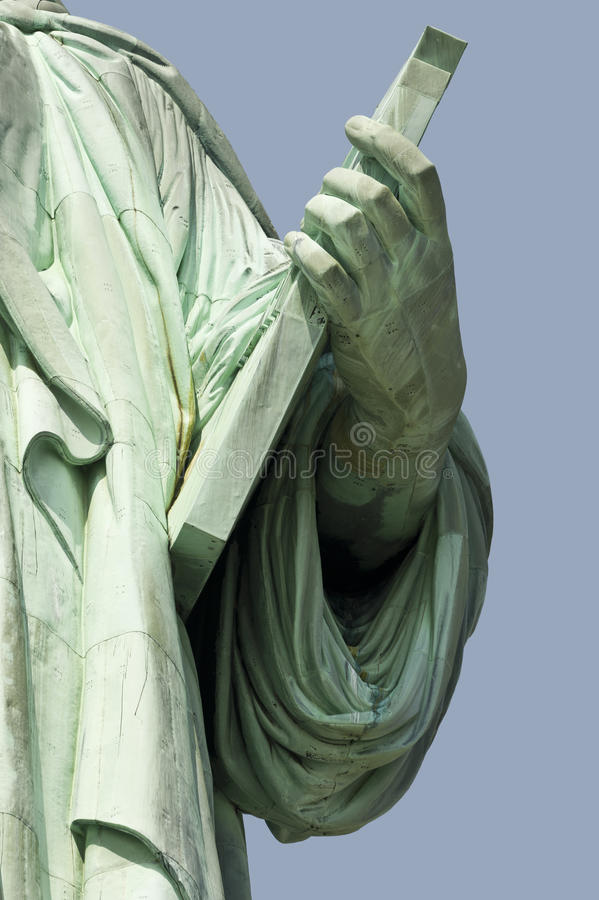 Download Statue of Liberty stock photo. Image of island, hand - 19283880