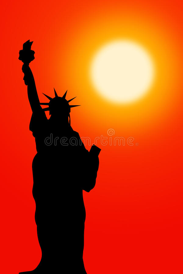 Download Statue of liberty stock illustration. Image of york, pride - 22496966