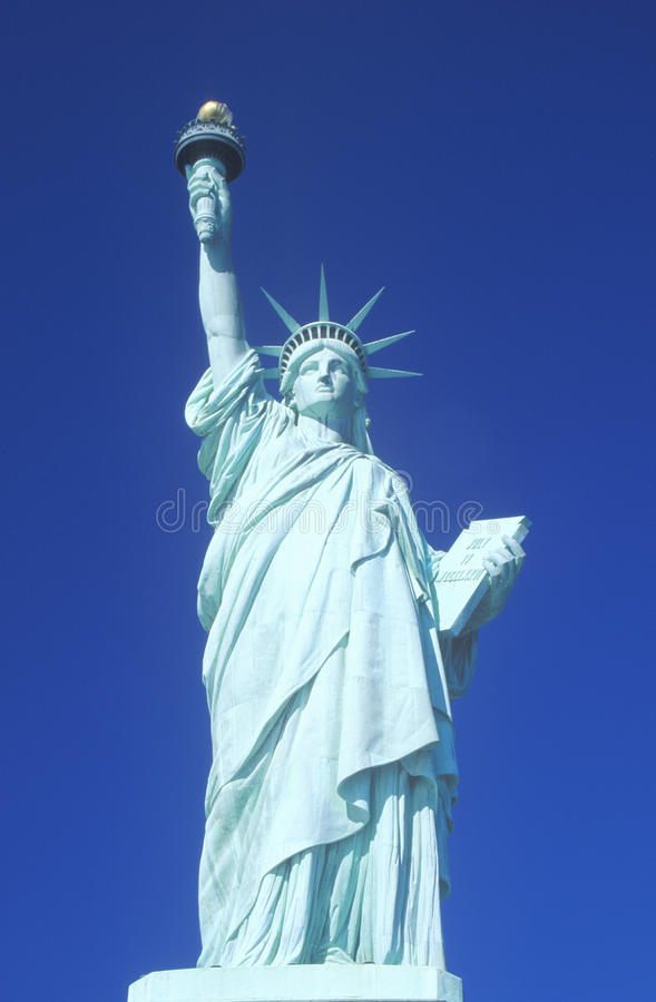 Download Statue of Liberty stock image. Image of shining, sculpture - 26890159