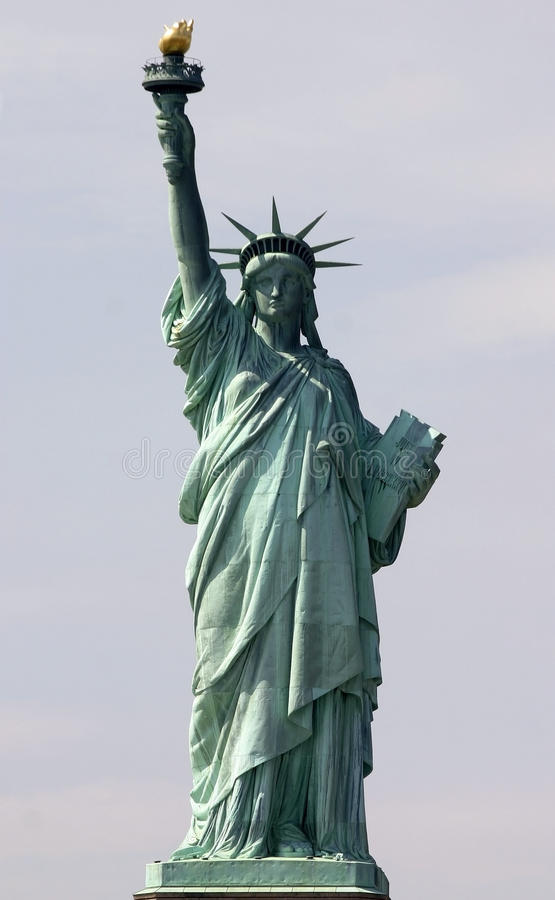 Download Statue of Liberty stock photo. Image of monument, flaming - 27697282