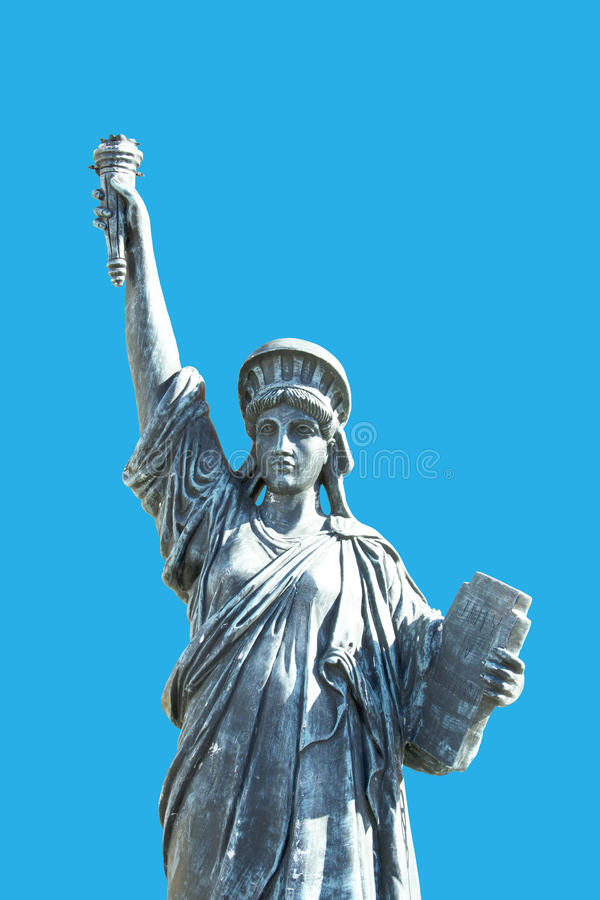 Download Statue of Liberty stock image. Image of artificial, background - 28925509