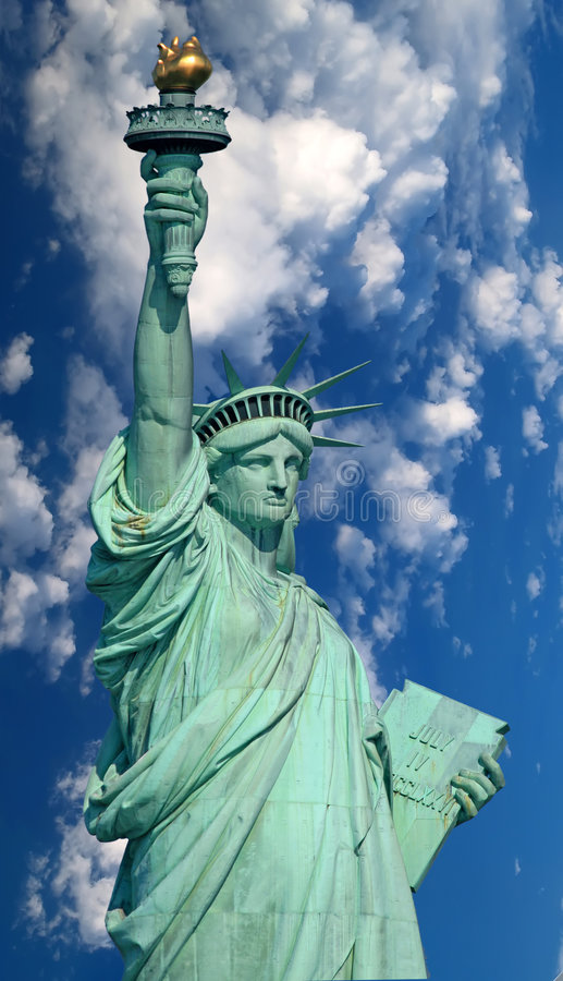 The Statue of Liberty stock photos