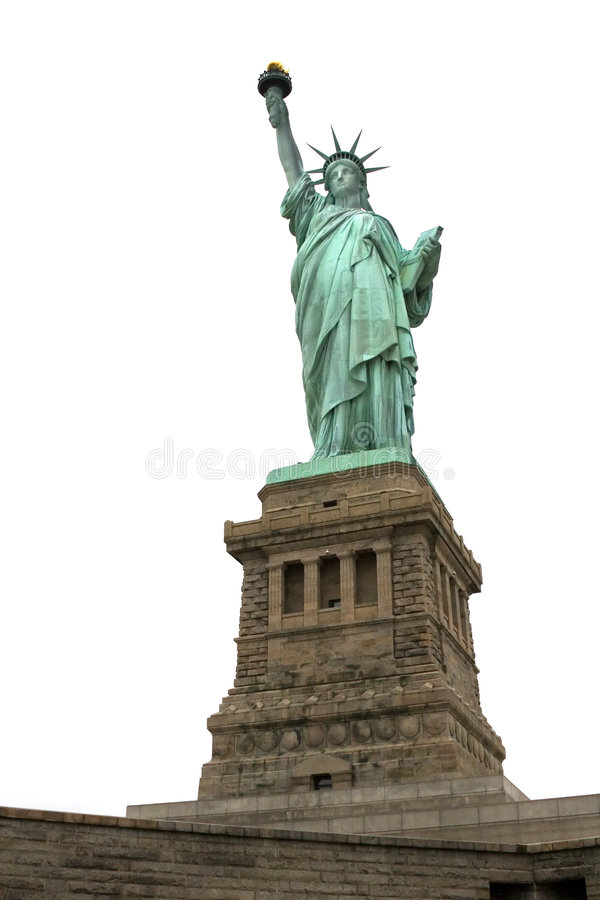 Statue of liberty 4 royalty free stock image