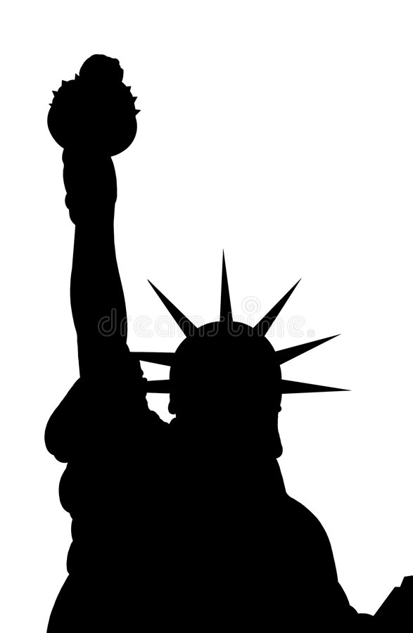 Download Statue of Liberty stock illustration. Illustration of freedom - 5274324