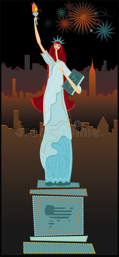 The Statue Of Liberty Royalty Free Stock Image