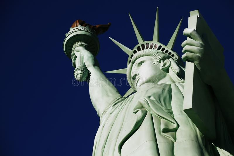 The Statue of Liberty,America,American Symbol,United states. New York,LasVegas,Guam,Paris royalty free stock image