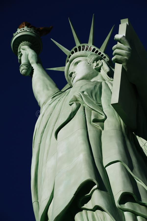The Statue of Liberty,America,American Symbol,United states. New York,LasVegas,Guam,Paris royalty free stock photos