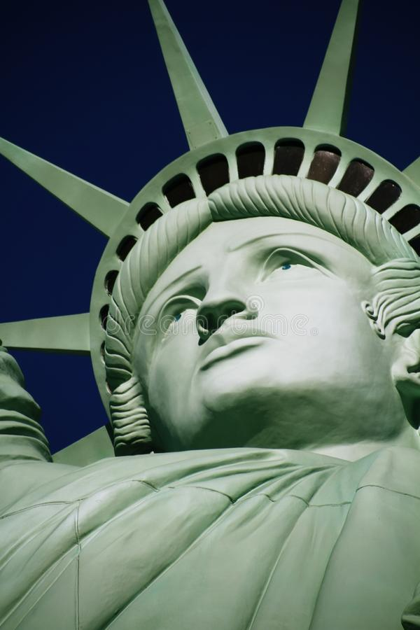 The Statue of Liberty,America,American Symbol,United states. New York,LasVegas,Guam,Paris royalty free stock photo