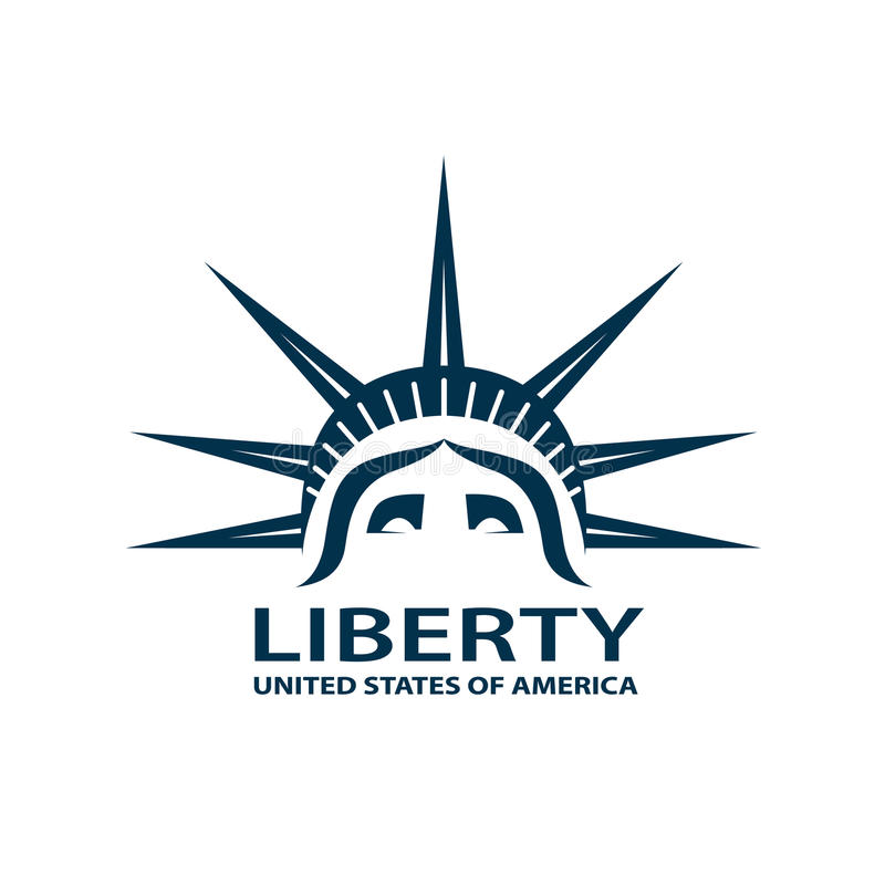 Statue of liberty royalty free illustration