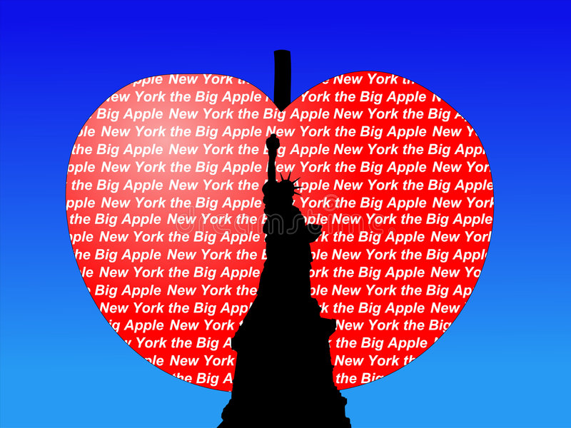 Download Statue Of Liberty Big Apple Stock Illustration - Image: 2756072