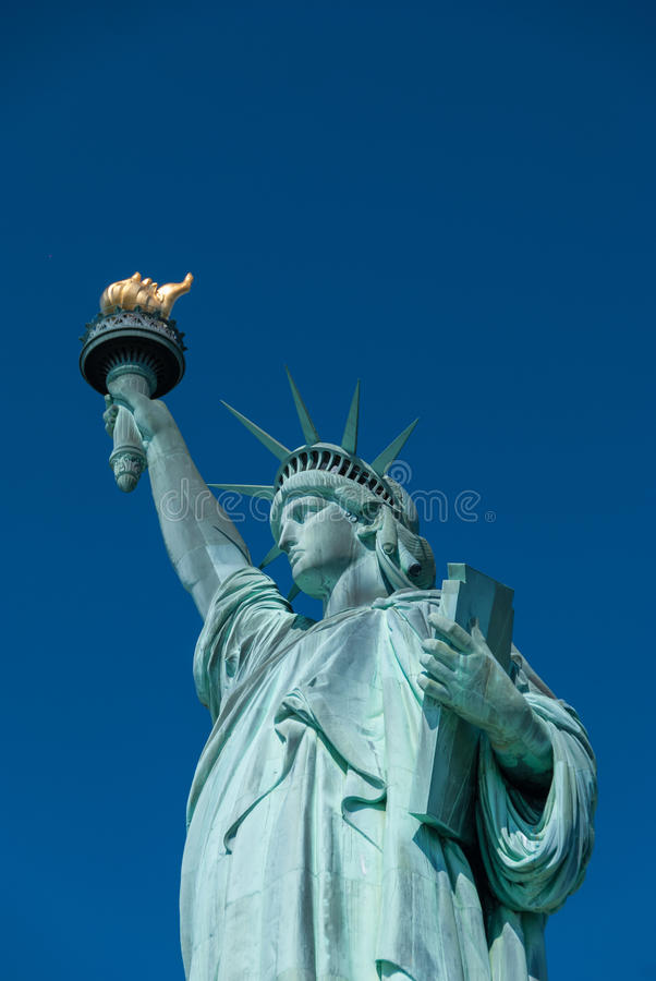 Statue of Liberty. Close up royalty free stock images