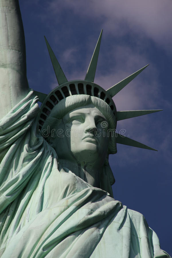 Statue Of Liberty Closeup Stock Images
