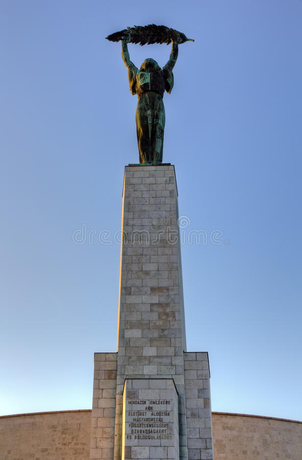 Download Statue Of Liberty, Gellert Hill, Budapest, Hungary Stock Image - Image: 28197785