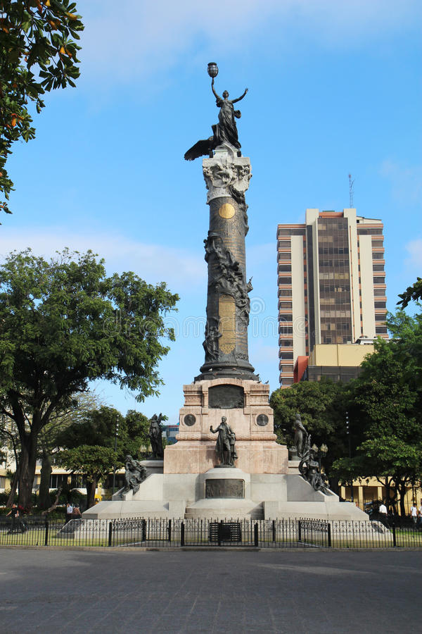 Statue of Liberty in Guayaquil, Ecuador royalty free stock photography
